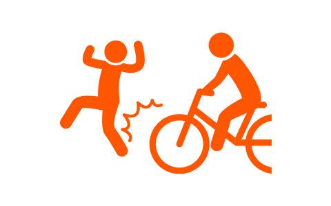 事例5自転車での事故